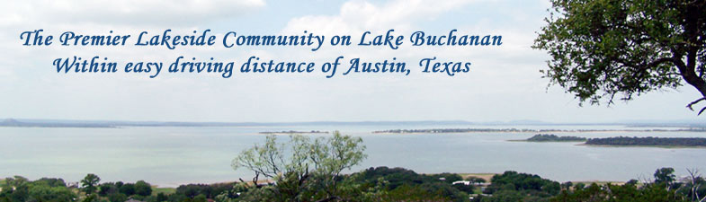Texas Hill Country Land for Sale on Lake Buchanan